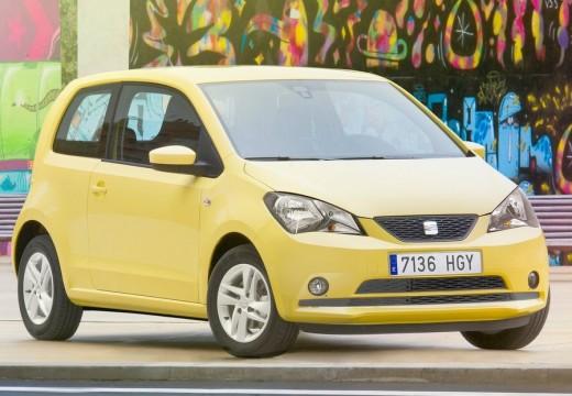 SEAT Mii hatchback żółty przedni prawy
