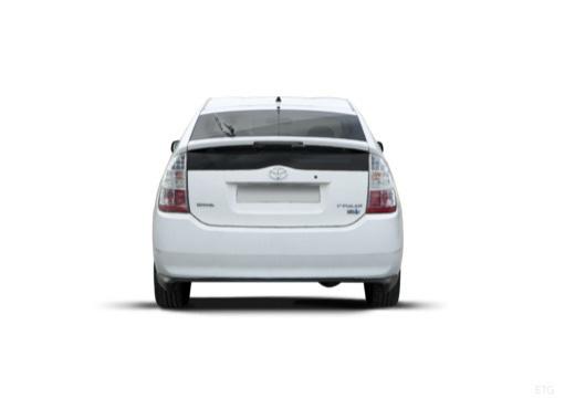 Toyota Prius I hatchback biały tylny