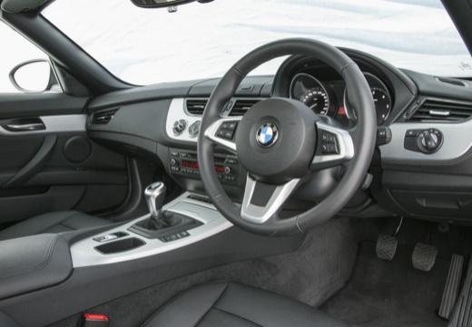BMW Z4 E89 II roadster szary ciemny tablica rozdzielcza