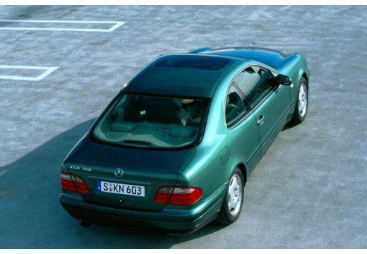 MERCEDES-BENZ Klasa CLK CLK C 208 coupe zielony tylny prawy