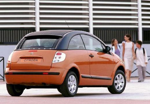 CITROEN C3 Pluriel hatchback pomarańczowy tylny prawy