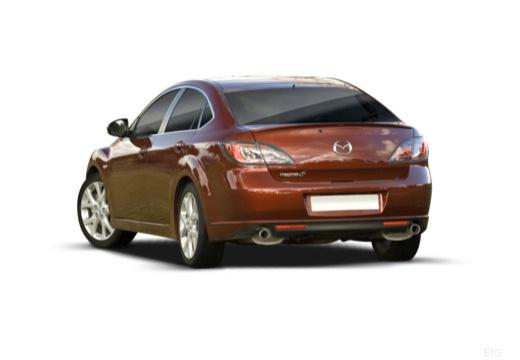 MAZDA 6 III hatchback tylny lewy