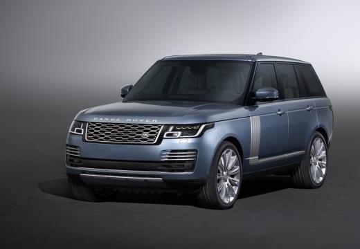 LAND ROVER Range Rover VII kombi niebieski jasny przedni lewy