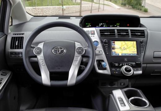Toyota Prius + I kombi tablica rozdzielcza