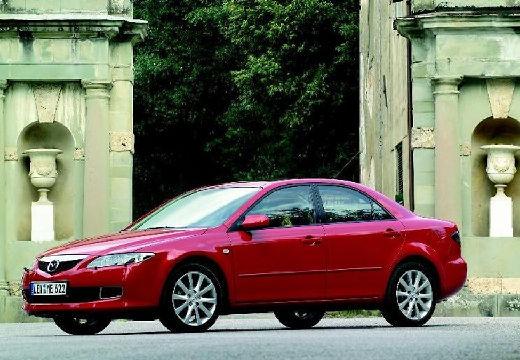 MAZDA 6 II hatchback czerwony jasny przedni lewy
