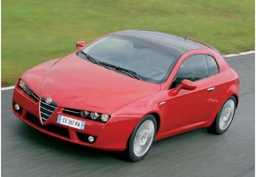 ALFA ROMEO Brera coupe czerwony jasny przedni lewy