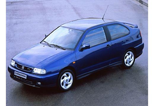 SEAT Cordoba SX I coupe niebieski jasny przedni lewy