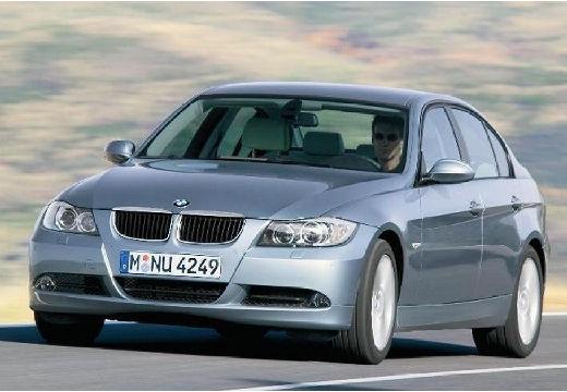 BMW Seria 3 sedan silver grey przedni lewy