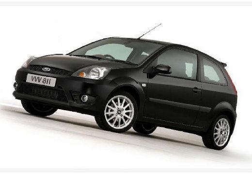 FORD Fiesta VI hatchback czarny przedni lewy