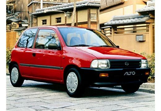 SUZUKI Alto hatchback czerwony jasny przedni prawy