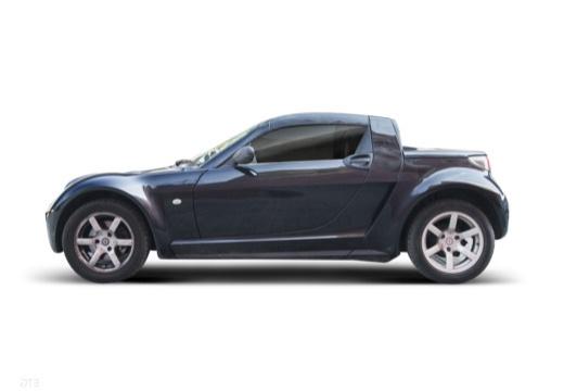 SMART Roadster I roadster czarny boczny lewy