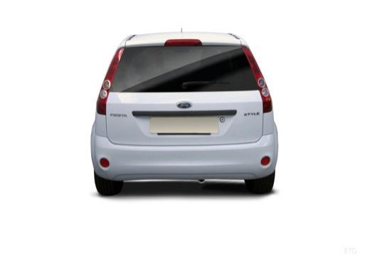 FORD Fiesta VI hatchback biały tylny