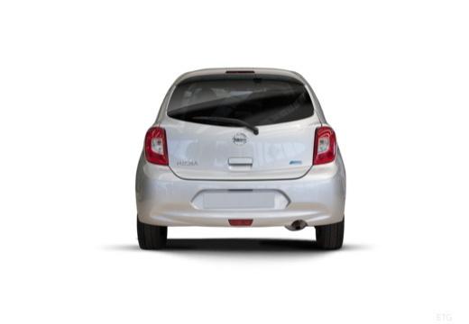 NISSAN Micra IX hatchback tylny