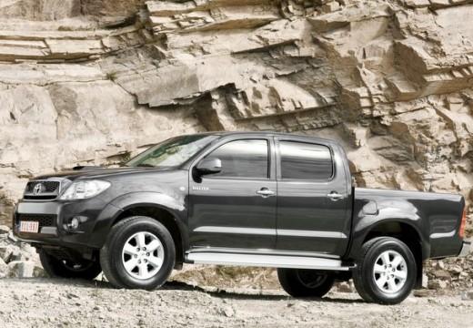 Toyota HiLux IV pickup szary ciemny boczny lewy