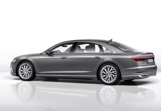 AUDI A8 4N sedan silver grey tylny lewy