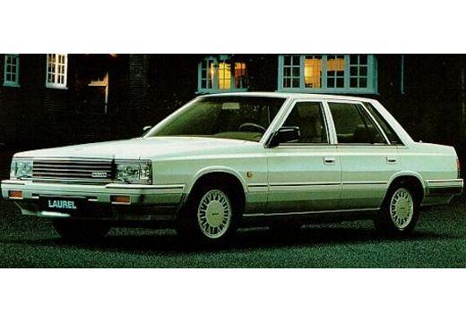 NISSAN Laurel sedan silver grey przedni lewy