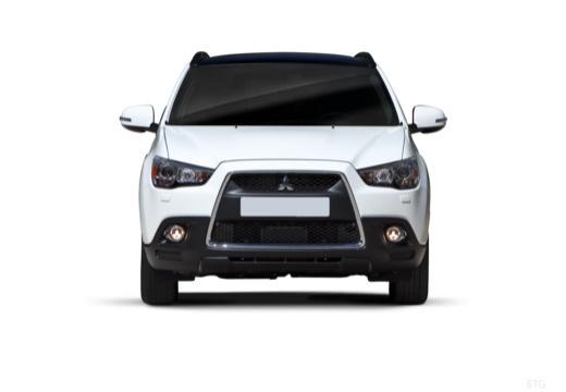 MITSUBISHI ASX I hatchback biały przedni