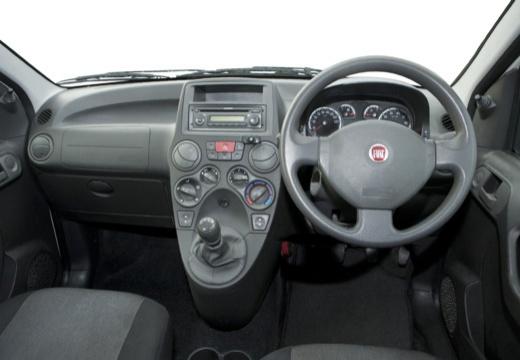 FIAT Panda II hatchback biały tablica rozdzielcza