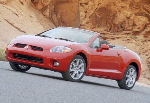 MITSUBISHI Eclipse Coupe IV kabriolet czerwony jasny przedni lewy