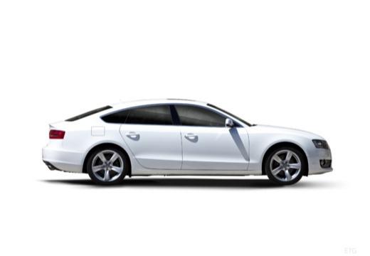 AUDI A5 hatchback boczny prawy
