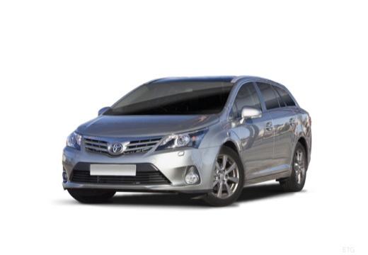 Toyota Avensis VII kombi silver grey przedni lewy