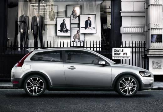 VOLVO C30 I hatchback silver grey boczny prawy