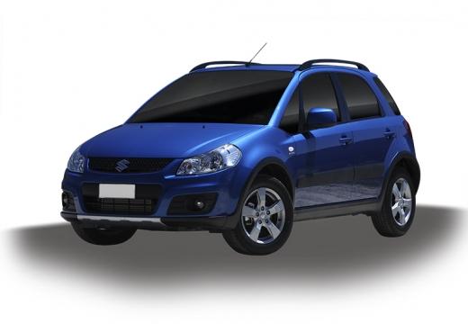 SUZUKI SX4 II hatchback niebieski jasny