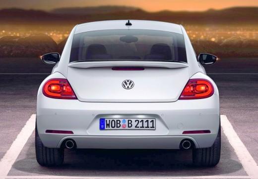 VOLKSWAGEN New Beetle Beetle I coupe biały tylny
