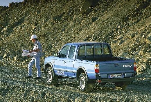 FORD Ranger pickup niebieski jasny tylny lewy