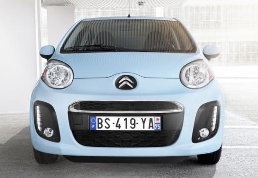 CITROEN C1 III hatchback niebieski jasny przedni