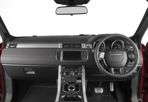 LAND ROVER Range Rover kabriolet tablica rozdzielcza