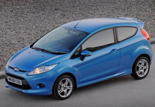 FORD Fiesta hatchback niebieski jasny przedni lewy