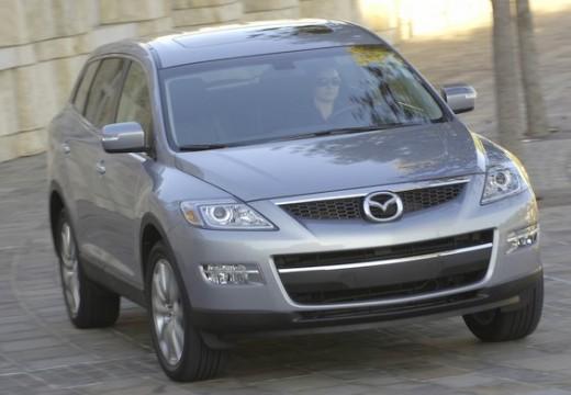 MAZDA CX-9 kombi silver grey przedni prawy