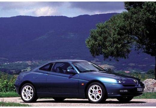 ALFA ROMEO GTV coupe zielony przedni prawy