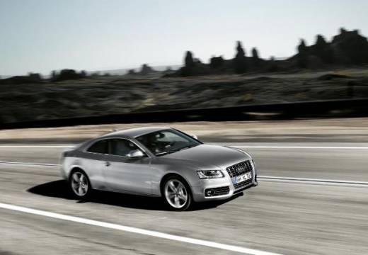 AUDI A5 I coupe silver grey przedni prawy