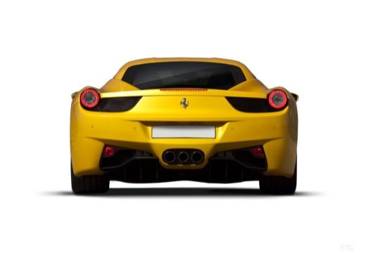 FERRARI 458 I coupe żółty tylny