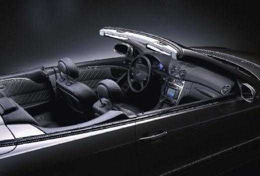 MERCEDES-BENZ Klasa CLK CLK Cabriolet A 209 I kabriolet czarny wnętrze