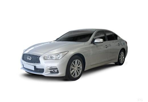 INFINITI Q50 I sedan biały przedni lewy