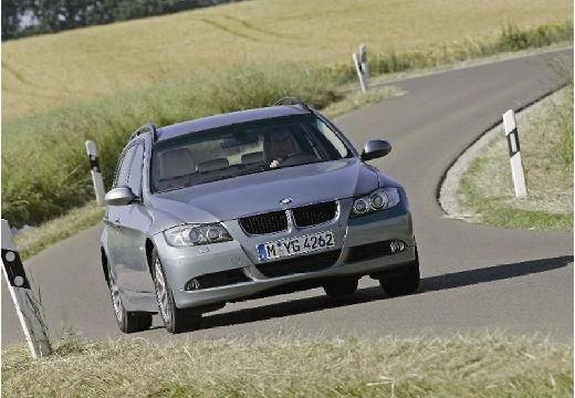 BMW Seria 3 Touring E91 I kombi silver grey przedni prawy