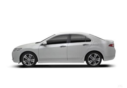 HONDA Accord VIII sedan biały boczny lewy