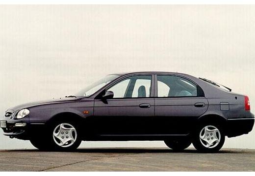 KIA Shuma hatchback fioletowy przedni lewy
