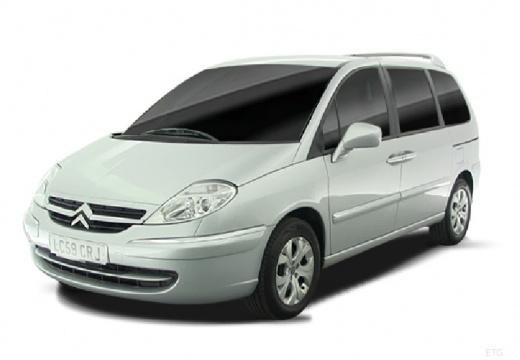 CITROEN C 8 van silver grey