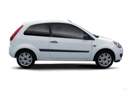 FORD Fiesta VI hatchback biały boczny prawy