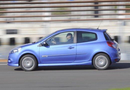 RENAULT Clio III II hatchback niebieski jasny boczny lewy