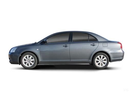 Toyota Avensis III sedan boczny lewy
