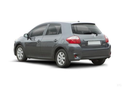 Toyota Auris II hatchback szary ciemny tylny lewy