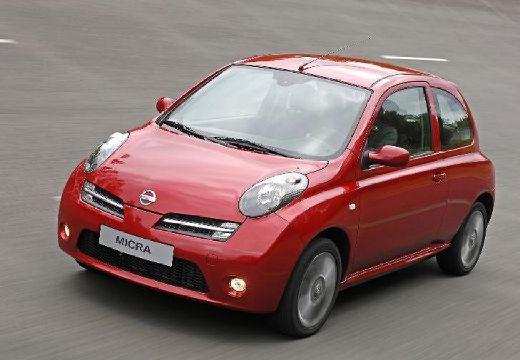 NISSAN Micra VII hatchback czerwony jasny przedni lewy