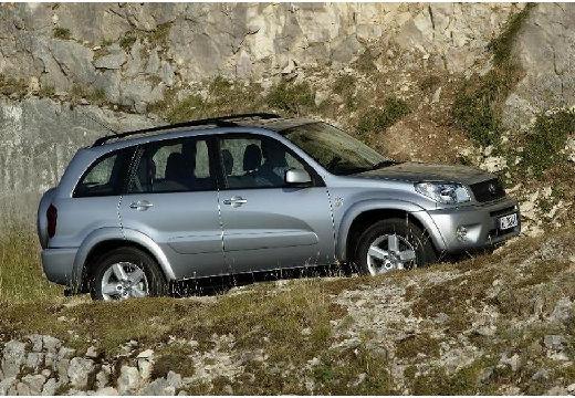 Toyota RAV4 III kombi silver grey przedni prawy