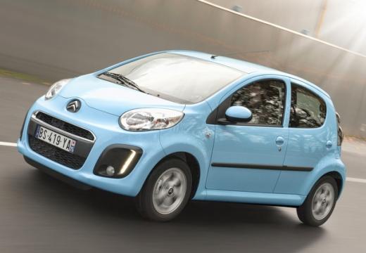 CITROEN C1 III hatchback niebieski jasny przedni lewy