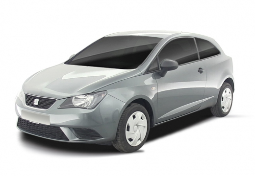 SEAT Ibiza hatchback silver grey